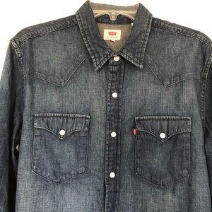 Levi's Womens Denim Ultimate Western Shirt | Sz: M